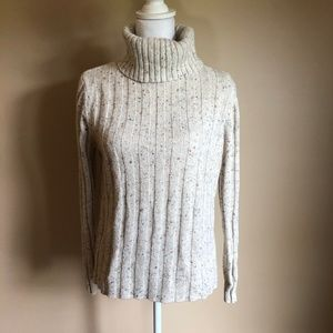 Relativity | Ribbed Wool Blend Sweater  L